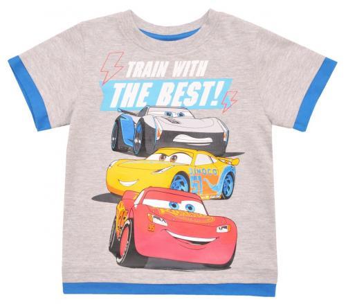 Tricou cu maneca scurta si imprimeu Disney Cars - Gri - Imbracaminte copii - Tricouri