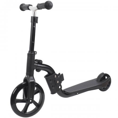 Trotineta 2 in 1 (trotineta / bicicleta) Action One - Negru - Trotinete copii -