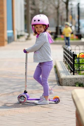 Trotineta Mini Micro Purple - Trotinete copii -
