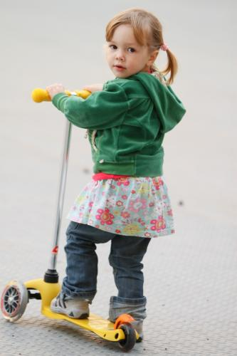 Trotineta Mini Micro Yellow - Trotinete copii -