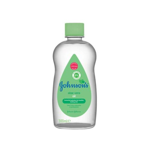 Ulei de corp Johnson`s Baby Aloe Vera – 300ml