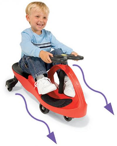 Vehicul actionat cu picioarele BoboCar Rosu - Vehicule fara pedale -