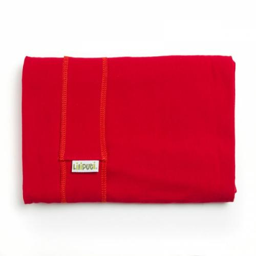 Wrap elastic Liliputi Classic line Red Carmin - Marsupii bebe -